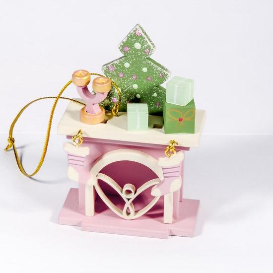 Елочная игрушка - Камин 3015 S Tree