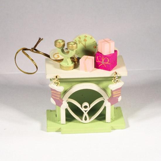 Елочная игрушка - Камин 90YY61_504 S