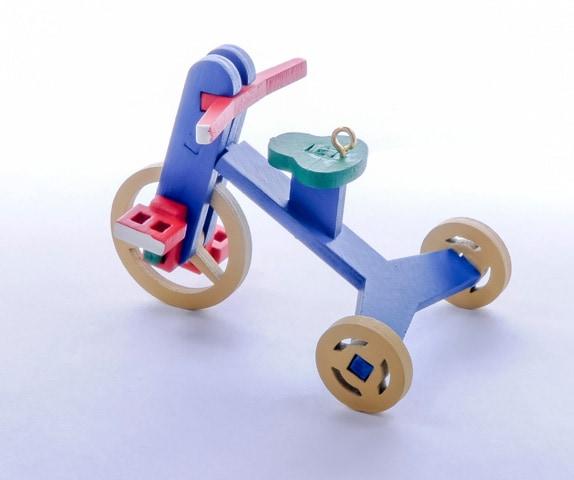 Елочная игрушка - Детский велосипед 640-6 Classic