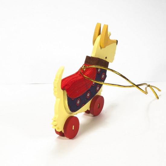 Елочная игрушка - Скотч желтый 270-1