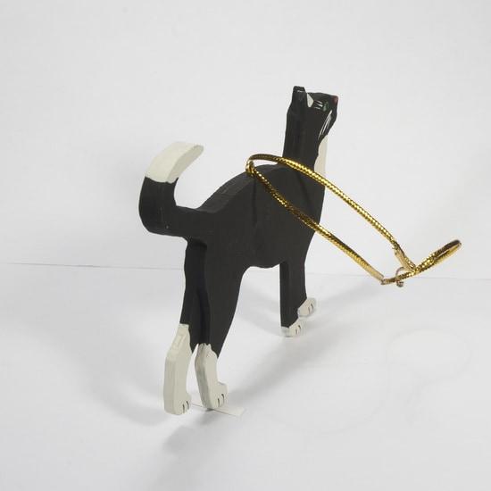 Елочная игрушка - Кошка 9005