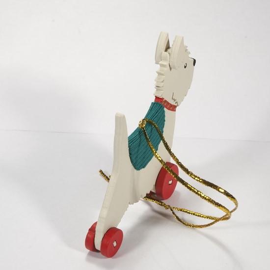 Елочная игрушка - Вестик 1013 Green Blanket