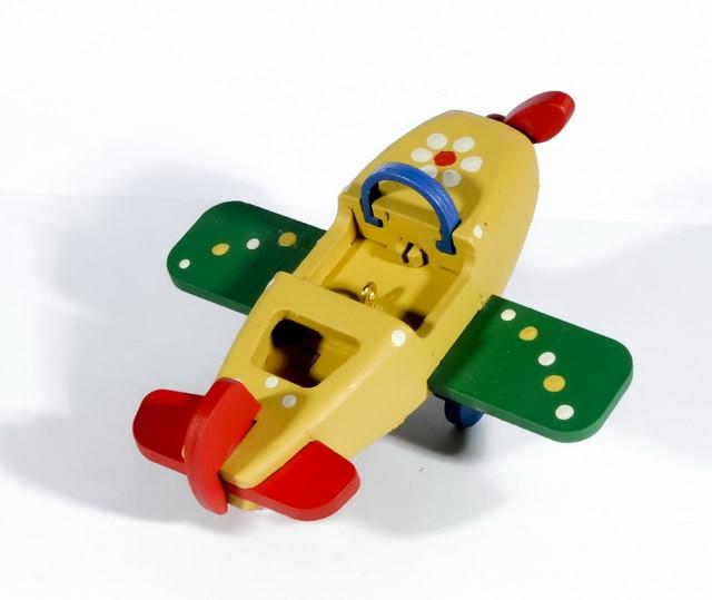 Елочная игрушка - Самолет Моноплан 290-3 Green Wings