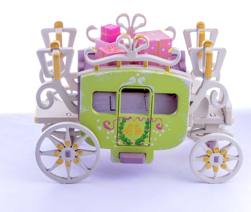 Елочная игрушка, сувенир - Карета крытая 4009
