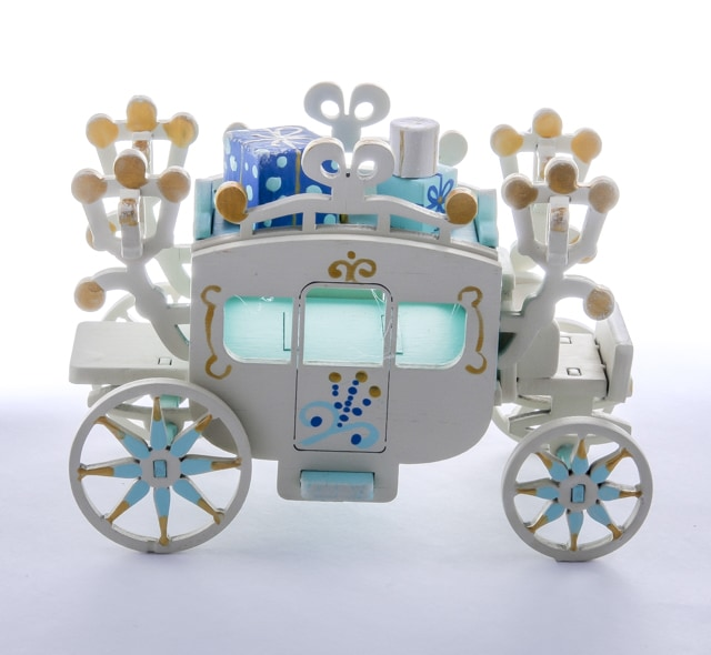 Елочная игрушка, сувенир - Карета крытая 56GG64-25804