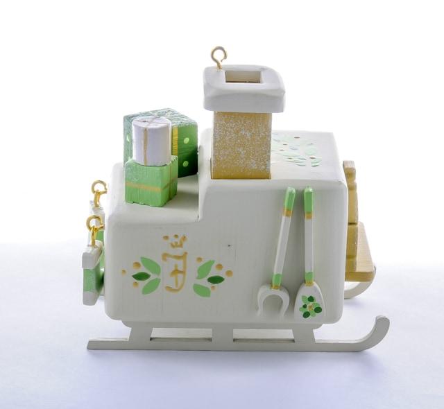 Елочная игрушка, сувенир - Печка Русская 1013 Millet