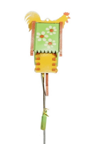 Елочная игрушка, сувенир - Часы с маятником 370-1