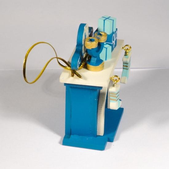 Елочная игрушка - Камин 650-3 S