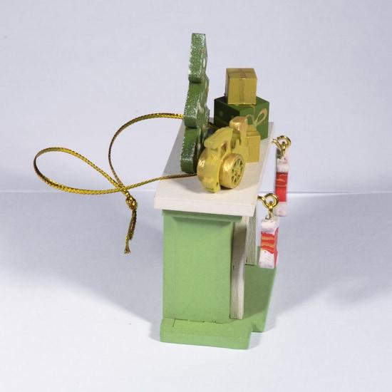 Елочная игрушка - Камин 230-2 P Tree