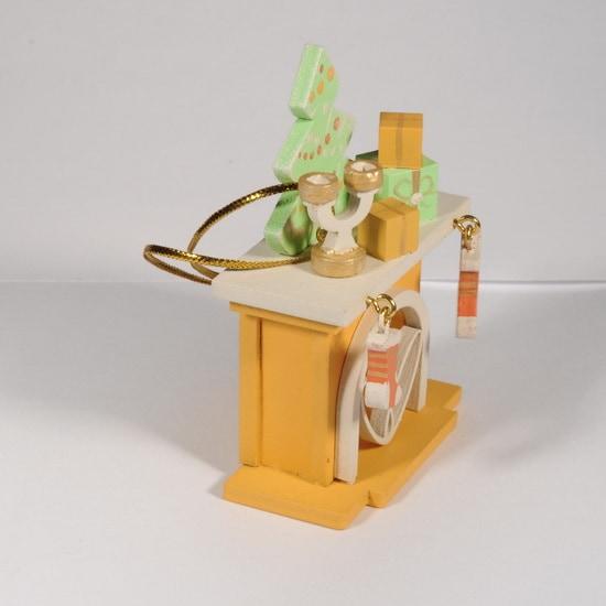 Елочная игрушка - Камин 370-1 S Tree