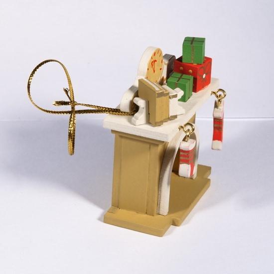 Елочная игрушка - Камин 290-3 K