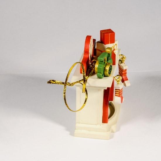 Елочная игрушка - Камин 1013 P