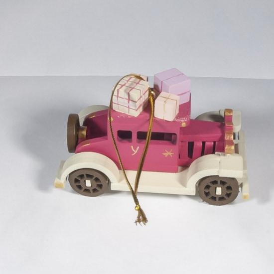 Елочная игрушка, сувенир - Машинка легковая 4010