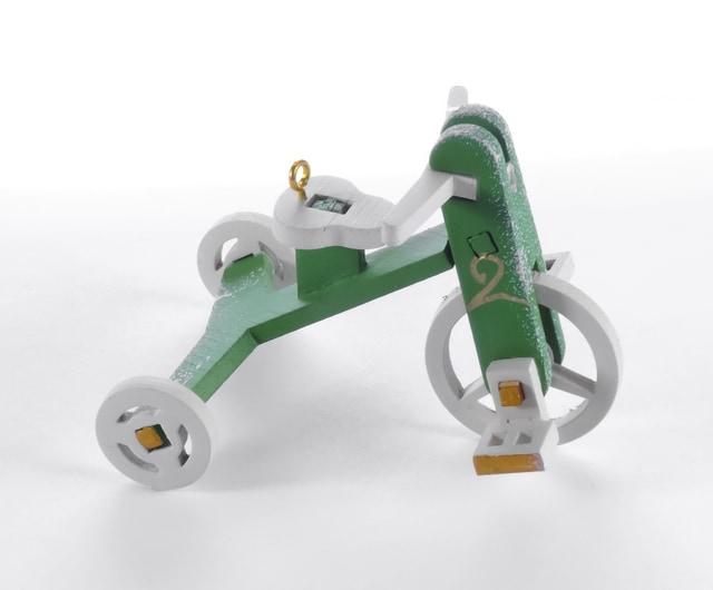 Елочная игрушка - Детский велосипед 6017 Classic
