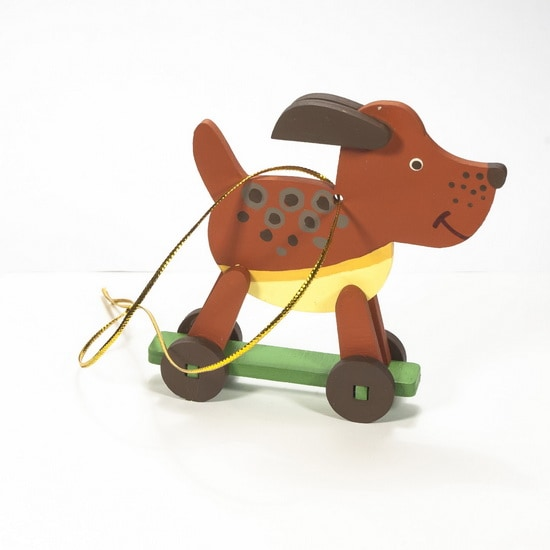 Елочная игрушка - Дворняжка прянечная 360-5