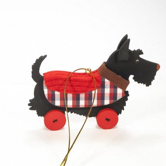 Елочная игрушка - Скотч черный 9005