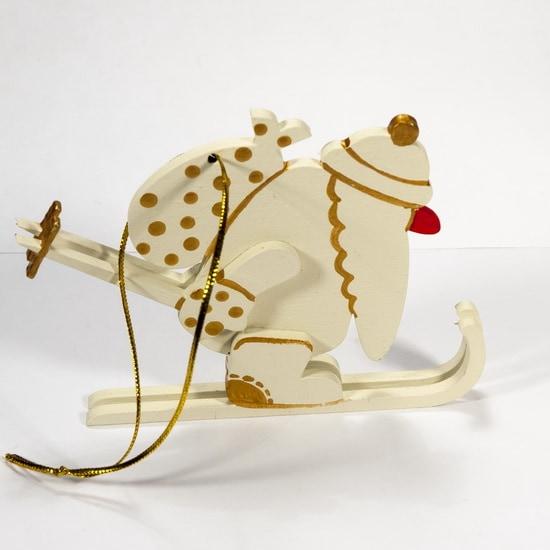 Елочная игрушка - Дедушка мороз 1013