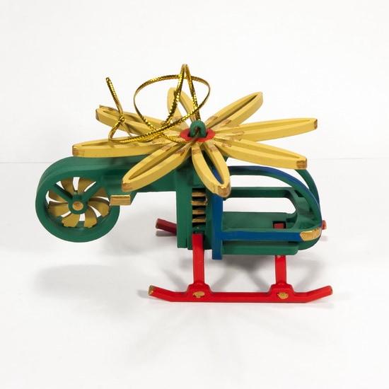 Елочная игрушка - Вертолет малый 6029