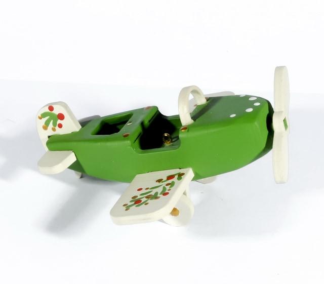 Елочная игрушка - Самолет Моноплан 6017