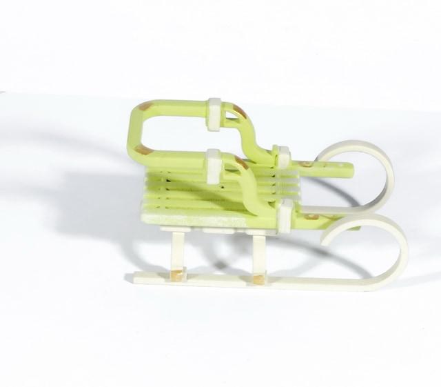 Елочная игрушка - Санки Большие 90YY61-504