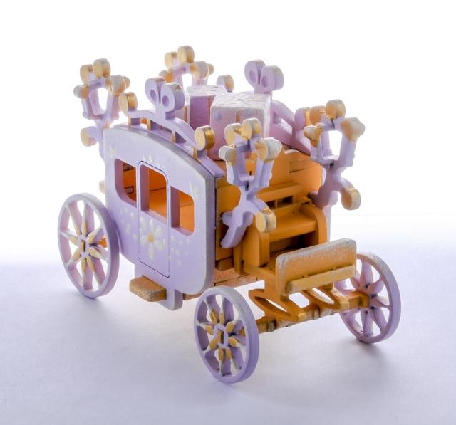 Елочная игрушка, сувенир - Карета крытая 370-1