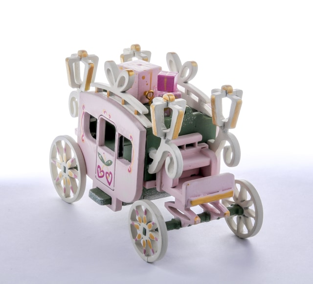 Елочная игрушка, сувенир - Карета крытая 6011