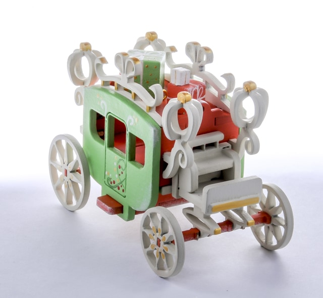 Елочная игрушка, сувенир - Карета крытая 410-3