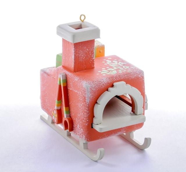 Елочная игрушка, сувенир - Печка Русская 410-3