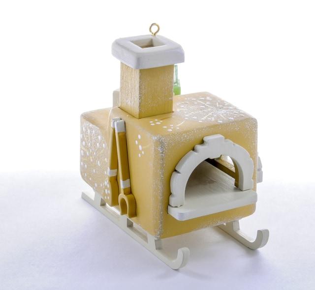 Елочная игрушка, сувенир - Печка Русская 290-3
