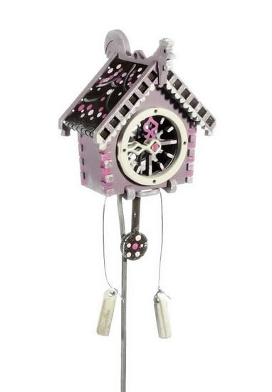 Елочная игрушка, сувенир - Часы с маятником 4009