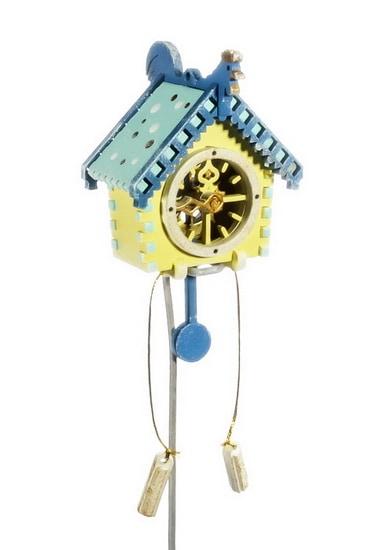 Елочная игрушка, сувенир - Часы с маятником 270-1