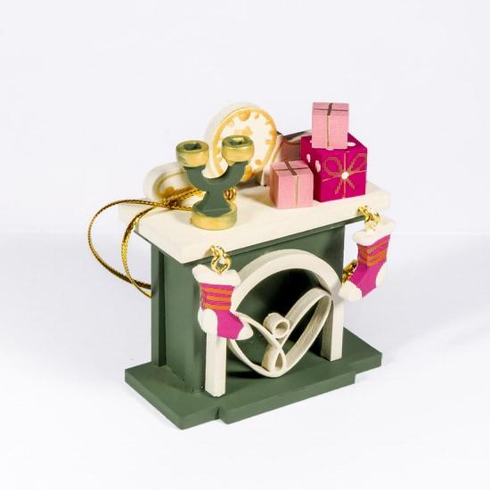 Елочная игрушка - Камин 6011 S