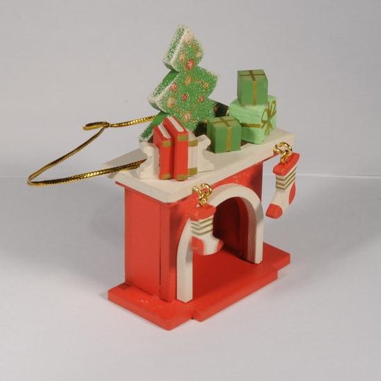 Елочная игрушка - Камин 3020 K Tree