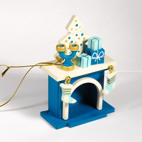 Елочная игрушка - Камин 650-3 S Tree