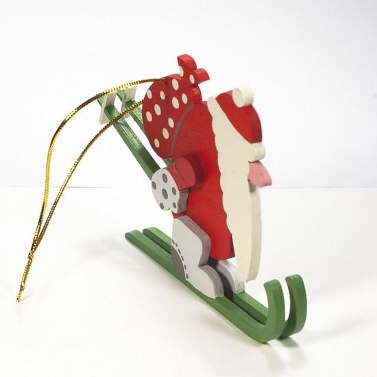 Елочная игрушка - Дедушка мороз 3020