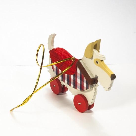 Елочная игрушка - Скотч белый 1013