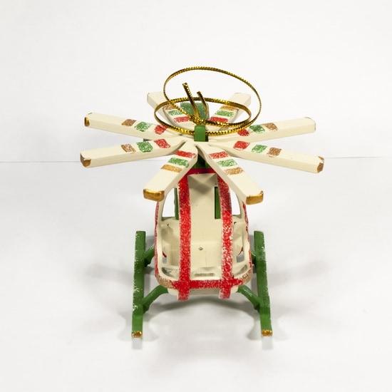 Елочная игрушка - Вертолет малый 6017