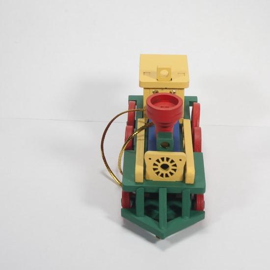 Елочная игрушка, сувенир - Ретро паровоз 6029