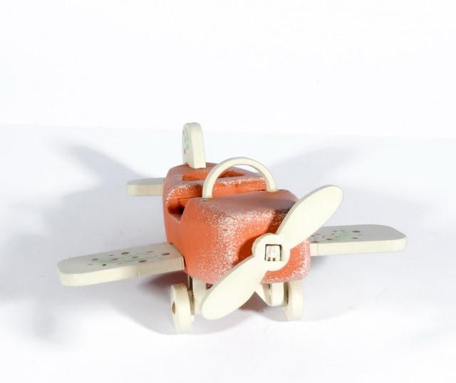 Елочная игрушка - Самолет Моноплан 410-3