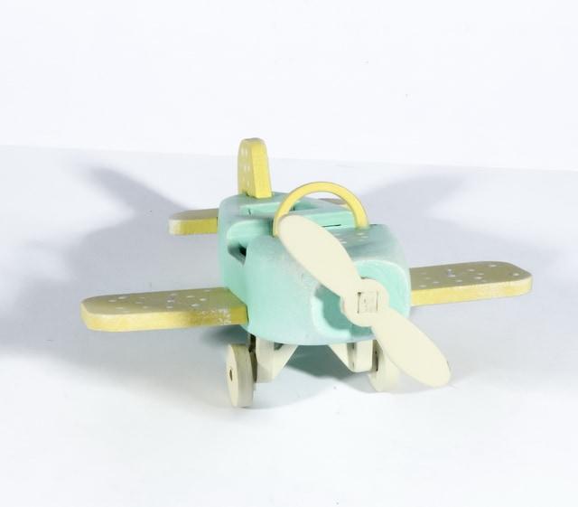 Елочная игрушка - Самолет Моноплан 56GG64-25804