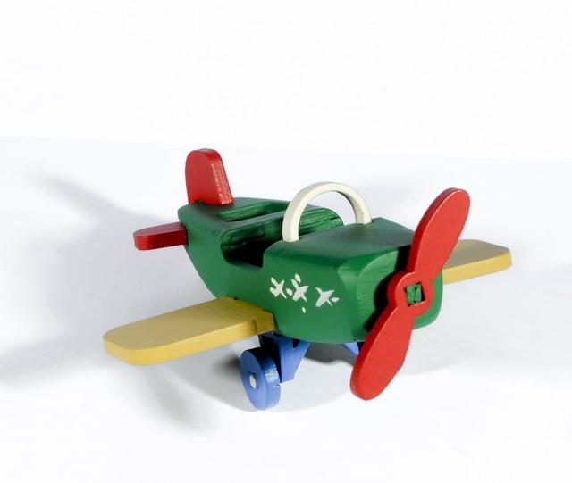 Елочная игрушка - Самолет Моноплан 6029