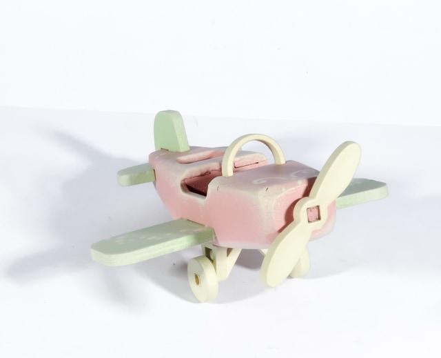 Елочная игрушка - Самолет Моноплан 3015