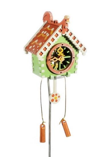 Елочная игрушка, сувенир - Часы с маятником 230-2