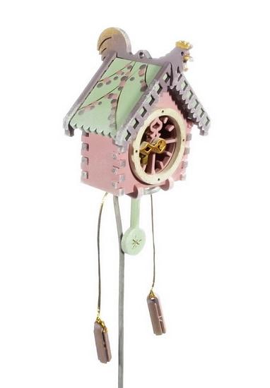 Елочная игрушка, сувенир - Часы с маятником 3015