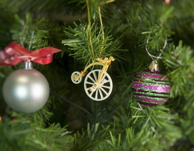 Елочная игрушка - Ретро Велосипед 290-3 Classic