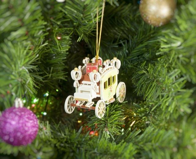 Елочная игрушка, сувенир - Карета крытая 360-5