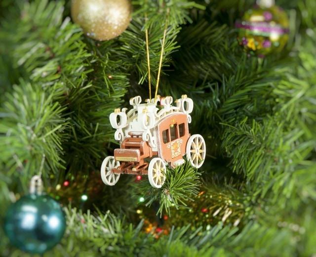 Декоративные новогодние украшения: Карета крытая 1013