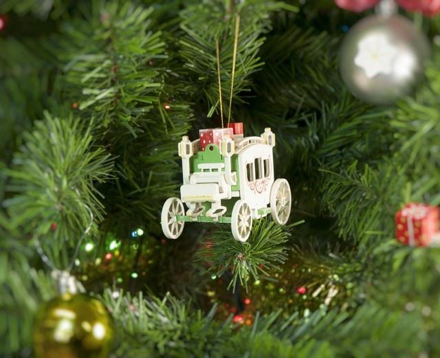 Декоративные новогодние украшения: Карета крытая 6017 Classic