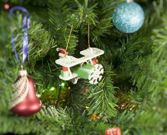Самолет Биплан 6017 Santa