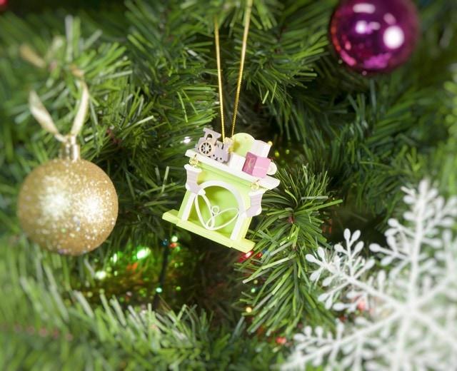 Праздничные новогодние украшения: Камин 90YY61_504 P